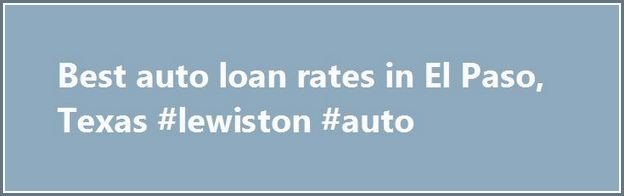 Best New Car Loan Rates Texas