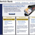 Merrick Credit Card Login