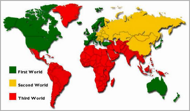 Third World Countries List Cold War